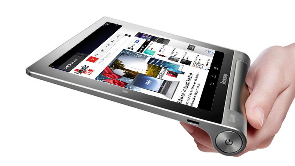 lenovo yoga 8 test des kleinen alu tablets mit android 4. Black Bedroom Furniture Sets. Home Design Ideas