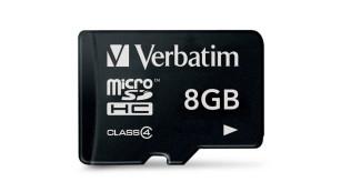 microSD-Karte von Verbatim©Verbatim