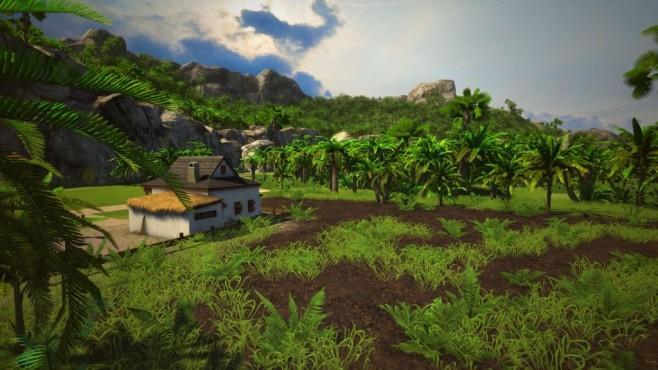 Tropico 5: Einmal Diktator, immer Diktator Auf der Heimatinsel Tropico gibt es viel zu erleben: Spieler mit Entdecker-Drank kriegen auf der graphisch in Szene gesetzten Insel ihr Fett weg.©Haemimont Games