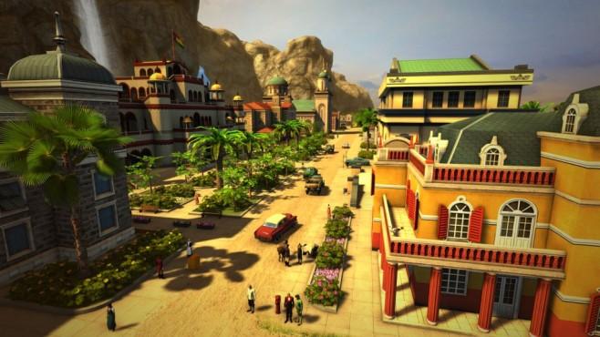 """Tropico 5: Einmal Diktator, immer Diktator Kein """"Tropico 4.5"""": Der fünfte Teil der Wirtschaftssimulations-Saga soll dem Spieler etwas völlig Neues bieten. Graphisch hat der neueste Teil einen riesigen Sprung gewagt.©Haemimont Games"""