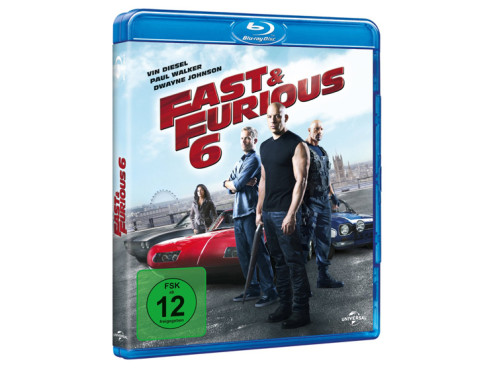 Fast & Furious 6 (Blu-ray) ©Universal Pictures Germany GmbH