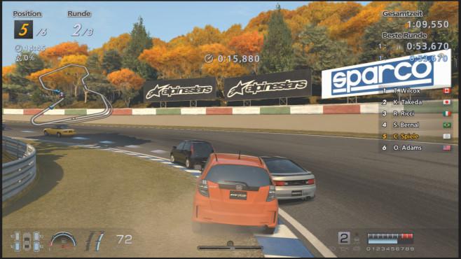 Rennspiel Gran Turismo 6: Kiesbett©Sony