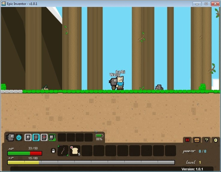 Screenshot 1 - Epic Inventor
