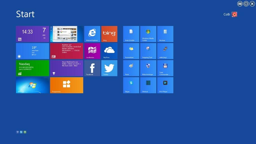 Screenshot 1 - WinMetro