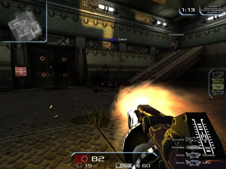Screenshot 1 - Xonotic