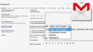 Neue Einstellung in Googlemail©Google, COMPUTER BILD