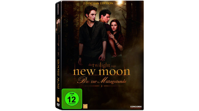 New Moon – Biss zur Mittagsstunde (DVD) © Concorde Video