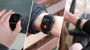 Fitbit Charge 4, Galaxy Watch, Apple Watch © COMPUTER BILD / Alena Zielinski, Julia Windhoff, Prime Time Fitness Hamburg