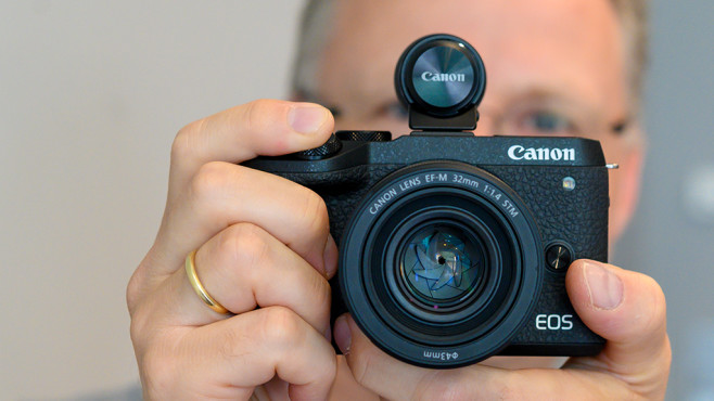 Canon EOS M6 Mark II ©COMPUTER BILD