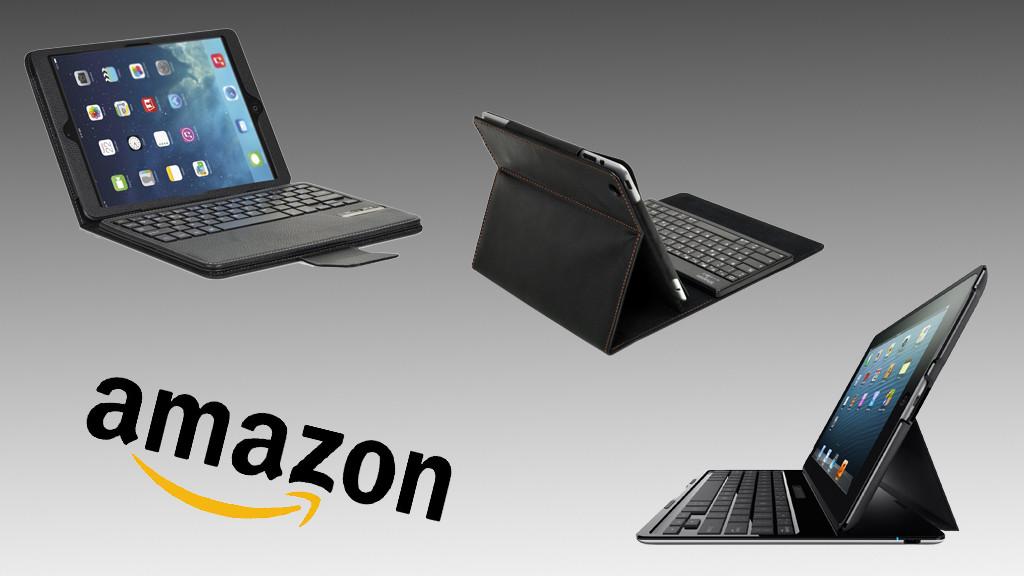 amazon die beliebtesten ipad h llen mit tastatur. Black Bedroom Furniture Sets. Home Design Ideas