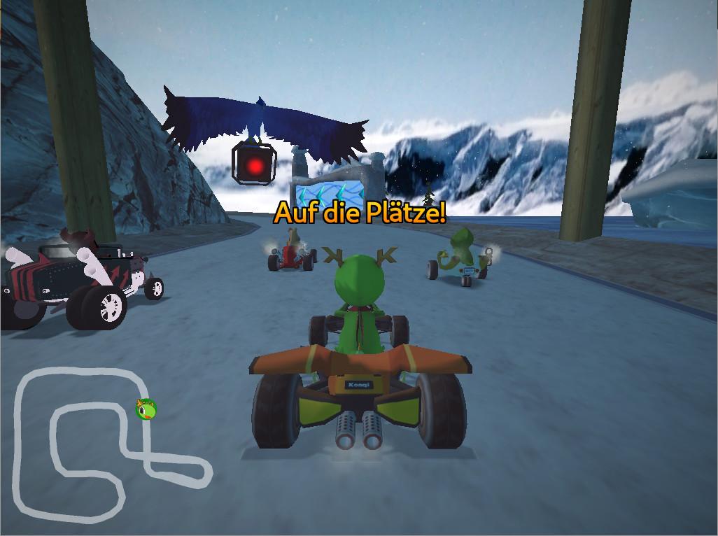 Screenshot 1 - SuperTuxKart (Mac)