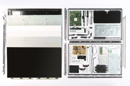 Ein Philips-TV der 6000er-Serie in seine Einzelteile zerlegt©COMPUTER BILD
