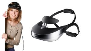 3D-Kopfkino HMZ-T3 von Sony©Sony, COMPUTER BILD