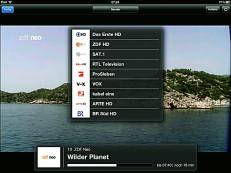 Programm-Übersicht in der Kathrein-App©Computer Bild