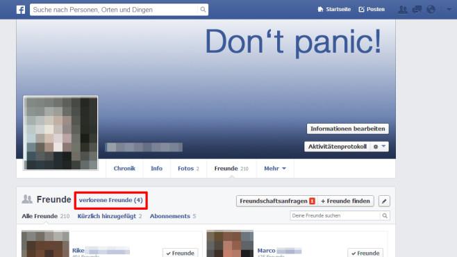 Schicken ohne nachricht freundschaft facebook Facebook Blockierung