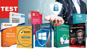 Antivirus Test 2019©Bitdefender, Eset, G Data, Symantec, Kaspersky, Avira, Avast, iStock.com/marchmeena29