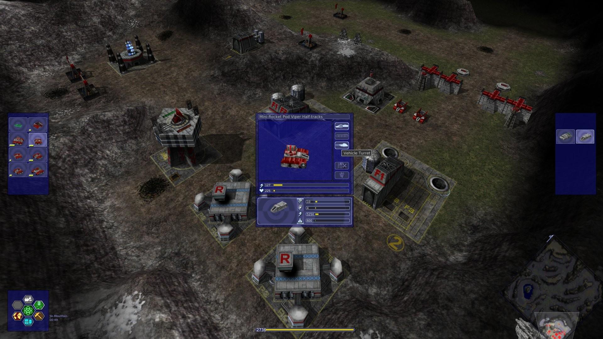 Screenshot 1 - Warzone 2100 Portable