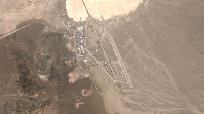 Area 51, Nevada (USA) © Google