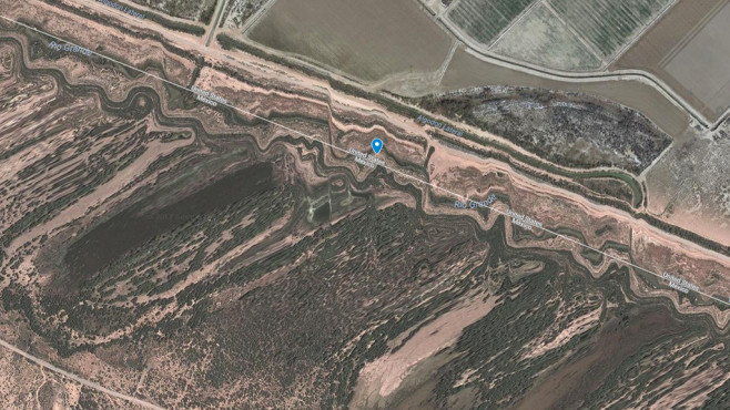 Grenze zu Mexiko (USA)©Google