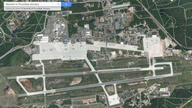 Ramstein Air Base (Deutschland) ©Google, COMPUTER BILD