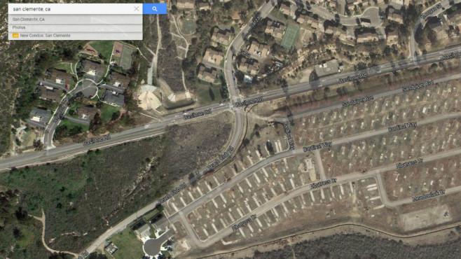 San Clemente, Kalifornien ©Google, COMPUTER BILD