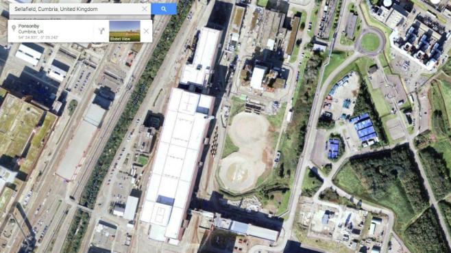 Sellafield (Vereinigtes Königreich) ©Google, COMPUTER BILD