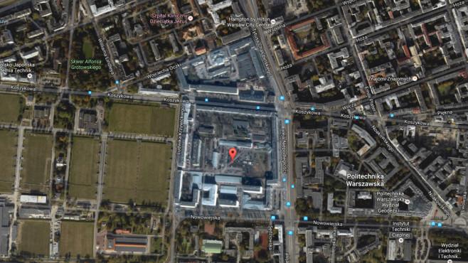 Warschauer Stadtviertel ©Google, COMPUTER BILD