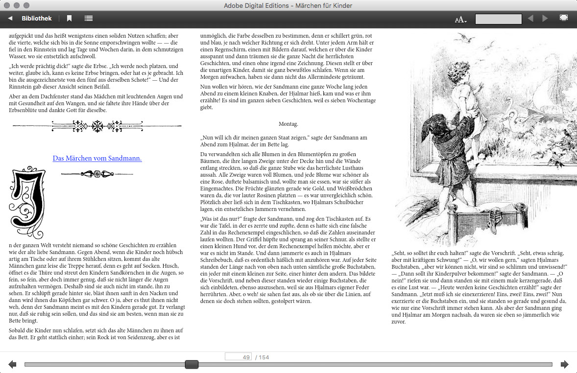 Screenshot 1 - Adobe Digital Editions (Mac)
