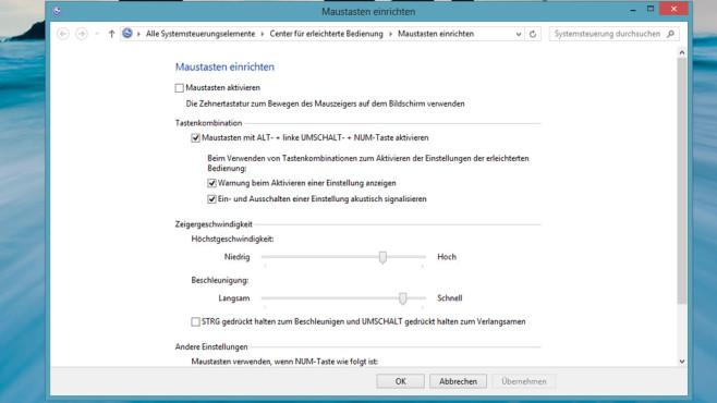 Tastaturmaus: So steuern Sie den Mauszeiger per Tastatur In einem versteckten Fenster aktivieren Sie die Windows-Tastaturmaus. Selbst wenn Ihre Maus nicht richtig funktioniert, bleibt Windows dank ihr bedienbar.©COMPUTER BILD