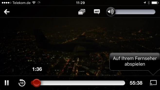 YouTube vom Smartphone auf den Fernseher streamen©COMPUTER BILD