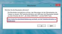 Tastaturmaus: So aktivieren Sie die versteckte Funktion©COMPUTER BILD
