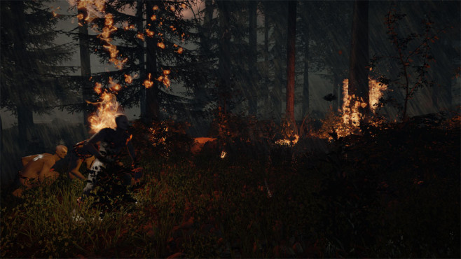 The Forest: Feuer © Endnight Games