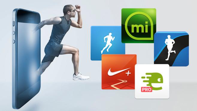 Lauf-Apps im Test©RunKeeper, Nike Inc, Adidas, edomondo.com, runtastic, bonninturina (fotolia.com)