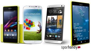 Xperia Z, HTC One & Co. mit Vertrag effektiv g�nstiger als im regul�ren Verkauf! Sichern Sie sich bei Sparhandy.de Top-Smartphones mit Vertrag zum absoluten Sparpreis.©Samsung, Nokia, HTC, Sony, Sparhandy