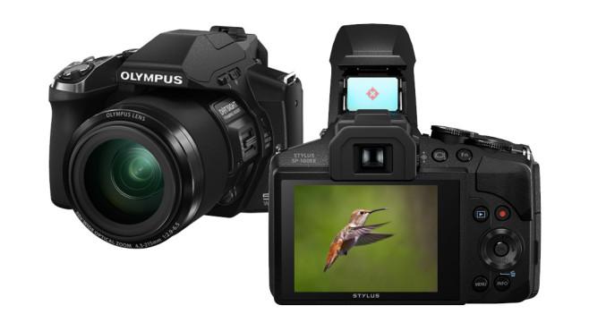 Olympus SP-100EE mit Punktvisier©Olympus