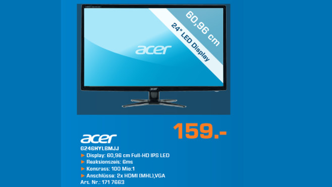 Acer G246HYLBMJJ ©Saturn