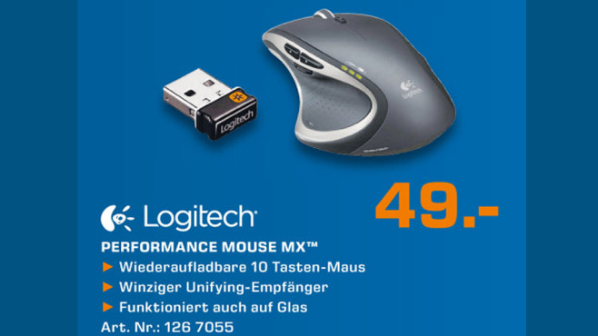 Logitech Performance Mouse MX ©Saturn