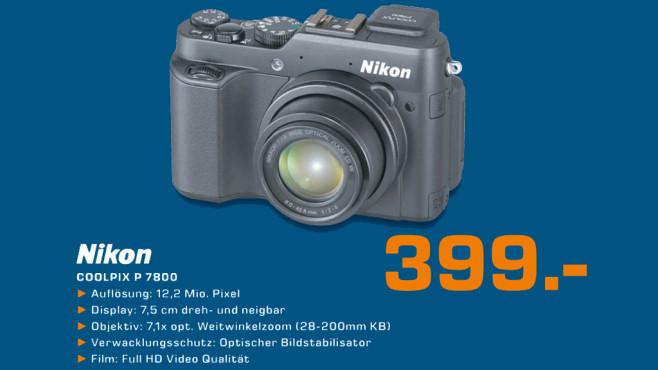 Nikon Coolpix P 7800 ©Saturn