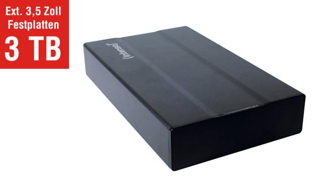 "Intenso Memory Box 3,5"" 3 TB ©COMPUTER BILD"