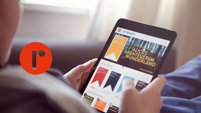 Tablet mit Readfy©Readfy