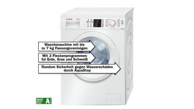 Bosch WAQ2842ECO ©Media Markt