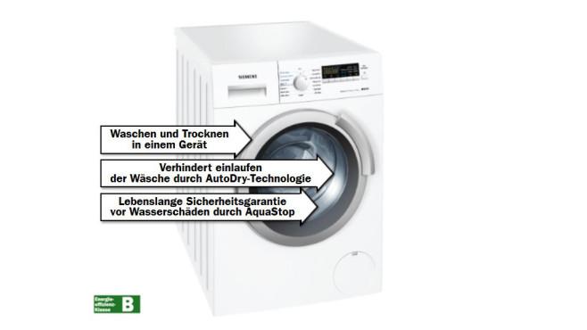 Siemens WD14H341 ©Media Markt