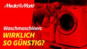 Media Markt: Waschmaschine©Media Markt, �istock/Juanmonino