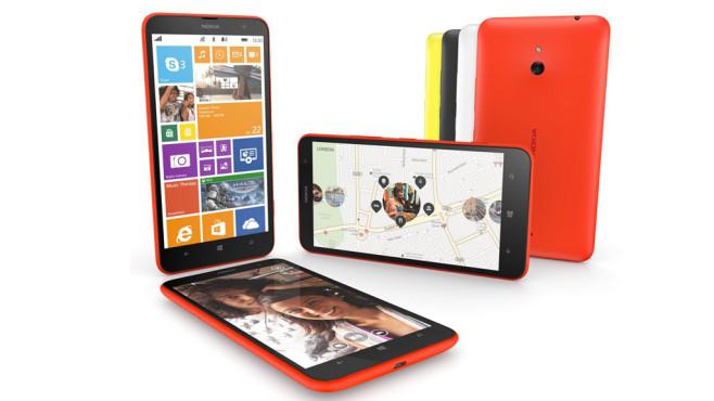 Nokia Lumia 1320: Günstiges Riesen-Smartphone mit Windows Phone©Nokia