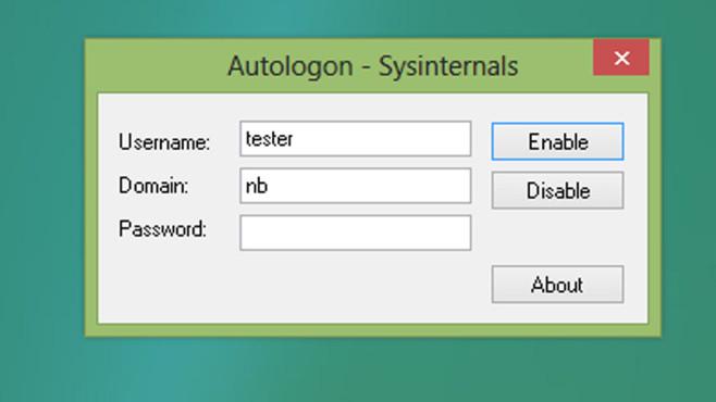 Autologon: Wichtigstes Benutzerkonto sofort anmelden ©COMPUTER BILD