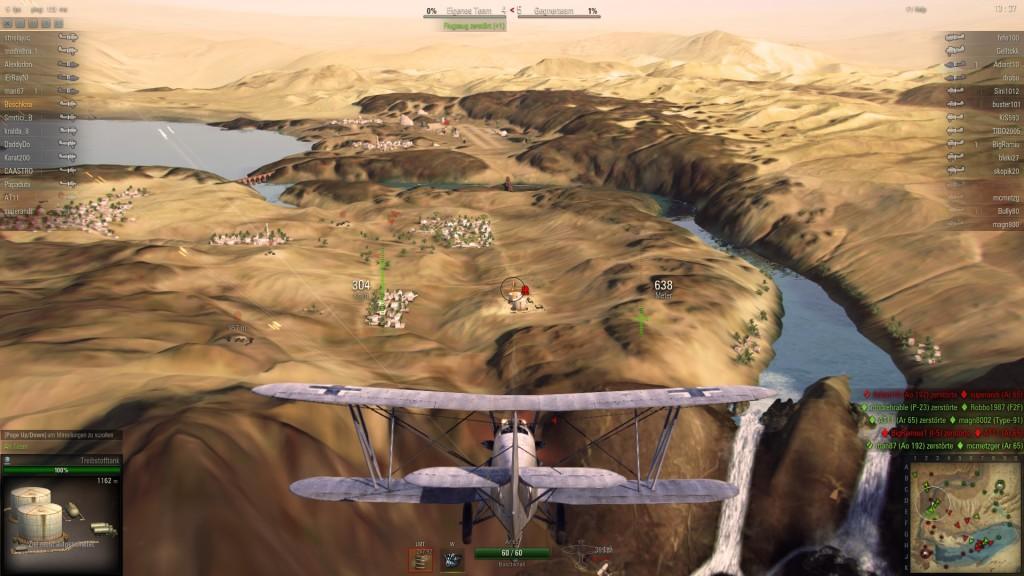 Screenshot 1 - World of Warplanes