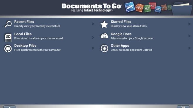 Documents To Go 3.0 ©DataViz, Inc.