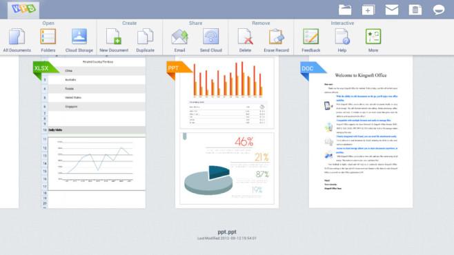 Kingsoft Office + PDF - 45 Lan ©Kingsoft Office Software Corporation Limited