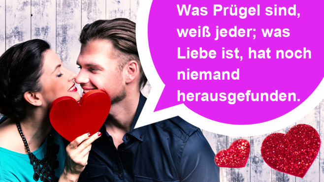 Die romantischsten WhatsApp-Sprüche zum Valentinstag ©drubig-photo - Fotolia.com, Heinrich Heine