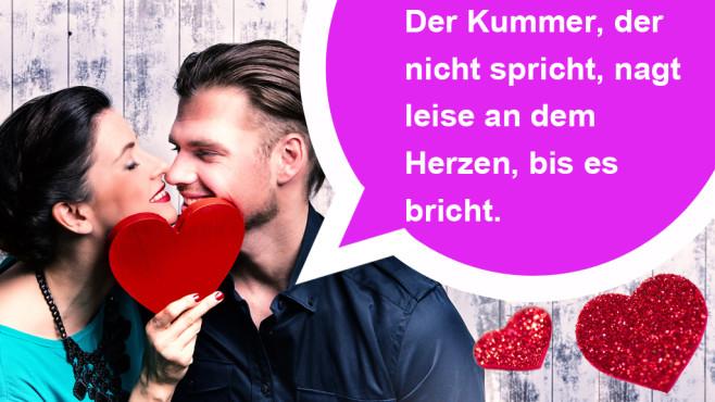 Die romantischsten WhatsApp-Sprüche zum Valentinstag ©William Shakespeare, drubig-photo - Fotolia.com